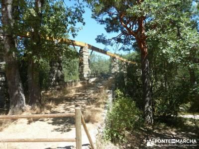 Pesquerías Reales y Fuentes de La Granja;senderos de madrid rutas para andar por madrid